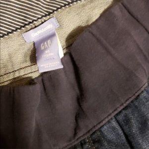 Gap maternity jeans size 10